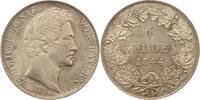 Gulden 1844 Bayern Ludwig I. 1825-1848. Fast Stempelglanz  175,00 EUR  +  4,00 EUR shipping