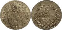 6 Kreuer 1816 Baden-Durlach Carl Ludwig Friedrich 1811-1818. Vorzüglich  65,00 EUR  Excl. 4,00 EUR Verzending