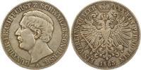 Taler 1865  A Schwarzburg-Sondershausen Günther Friedrich Karl II. 1835... 145,00 EUR