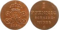 Pfennig 1831  C Braunschweig-Calenberg-Hannover Wilhelm IV. 1830-1837. ... 75,00 EUR  excl. 4,00 EUR verzending