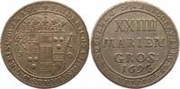 24 Mariengroschen 1694  J Münster-Bistum Friedrich Christian von Plette... 225,00 EUR  +  4,00 EUR shipping
