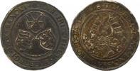 Sachsen-Kurfürstentum 1/2 Taler Johann Friedrich und Georg 1534-1539.