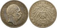 5 Mark 1902  E Sachsen Albert 1873-1902. Vorzüglich  170,00 EUR  Excl. 4,00 EUR Verzending