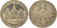 Taler 1863 Frankfurt-Stadt  Winz. Randfehler, sehr schön - vorzüglich  150,00 EUR  plus 4,00 EUR verzending