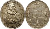 Ovale Porträtmedaille 1 1632 Regensburg-Stadt  Gestopftes Loch, vorzügl... 425,00 EUR free shipping