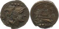 Triens 206 - 195  v. Chr. Republik AE Stab - Serie 206 - 195 v. Chr.. S... 125,00 EUR  +  4,00 EUR shipping