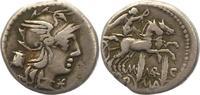 Denar  Republik M. Marcius Mn. f. 134 v. Chr.. Sehr schön  95,00 EUR  +  4,00 EUR shipping