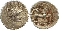 Denar (Serratus) 118 v. Chr Republik L. Licinius Crassus, Cn. Domitius ... 85,00 EUR  +  4,00 EUR shipping