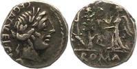 Quinar 97 v. Chr Republik C. Egnatuleius C. f. 97 v. Chr.. Fast sehr sc... 95,00 EUR  +  4,00 EUR shipping