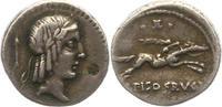 Denar 90 - 89  v. Chr. Republik L. Calpurnio Piso Frugi 90 - 89 v. Chr.... 65,00 EUR  +  4,00 EUR shipping