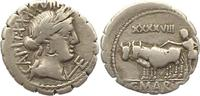 Denar (Serratus) 81 v. Chr Republik C. Marius C. f. Capito 81 v. Chr.. ... 115,00 EUR  +  4,00 EUR shipping