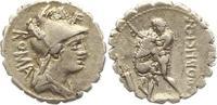 Denar (Serratus) 80 v. Chr Republik C. Poblicius Q. f. 80 v. Chr.. Sehr... 115,00 EUR  +  4,00 EUR shipping