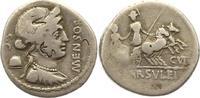 Denar 75 v. Chr Republik L. Farsuleius Mensor 75 v. Chr.. Prüfmarken, s... 75,00 EUR  +  4,00 EUR shipping
