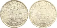 20 Escudos 1960 Portugel-Mosambik Republik. Mosambik Fast Stempelglanz  26,00 EUR  +  4,00 EUR shipping