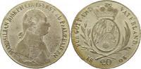 20 Kreuzer 1805 Bayern Maximilian IV. Joseph 1799-1805. Justierspuren, ... 55,00 EUR  +  4,00 EUR shipping