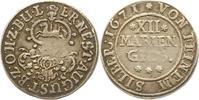 12 Mariengroschen Feinsilber 1671 Osnabrück-Bistum Ernst August I. 1662... 72,00 EUR  +  4,00 EUR shipping
