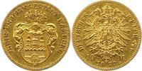 10 Mark Gold 1873  B Hamburg  Sehr schön  3950,00 EUR free shipping