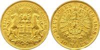10 Mark Gold 1888  J Hamburg  Sehr schön  240,00 EUR  +  4,00 EUR shipping