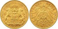 20 Mark Gold 1913  J Hamburg  Vorzüglich - Stempelglanz  345,00 EUR free shipping