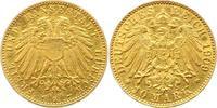10 Mark Gold 1909  A Lübeck  Kratzer, sehr schön  2000,00 EUR free shipping