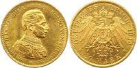 20 Mark Gold 1914  A Preußen Wilhelm II. 1888-1918. Fast Stempelglanz  395,00 EUR free shipping