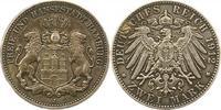 2 Mark 1912  J Hamburg  Schöne Patina. Sehr schön - vorzüglich  95,00 EUR  +  4,00 EUR shipping