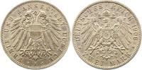 2 Mark 1906  A Lübeck  Randfehler, sehr schön +  150,00 EUR  +  4,00 EUR shipping
