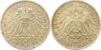 3 Mark 1908 Lübeck  Fast vorzüglich  165,00 EUR  +  4,00 EUR shipping