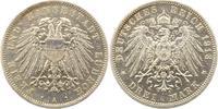 3 Mark 1913 Lübeck  Winz. Randfehler, vorzüglich  165,00 EUR  +  4,00 EUR shipping