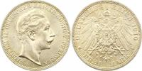 3 Mark 1910  A Preußen Wilhelm II. 1888-1918. Prachtexemplar. Fast Stem... 45,00 EUR  +  4,00 EUR shipping