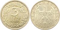 3 Mark 1932  D Weimarer Republik  Fast vorzüglich  385,00 EUR free shipping