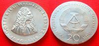 20 Mark 1966 DDR Gottfried Wilhelm Leibniz Stempelglanz  83,00 EUR  +  6,00 EUR shipping