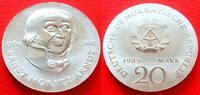 20 Mark 1985 DDR Ernst Moritz Arndt Stempelglanz  88,00 EUR  +  6,00 EUR shipping