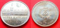 5 Mark 1984 DDR Altes Rathaus Leipzig Stempelglanz  9,00 EUR  +  5,00 EUR shipping
