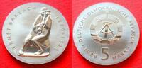 5 Mark 1988 DDR Ernst Barlach Stempelglanz  45,00 EUR  +  5,00 EUR shipping