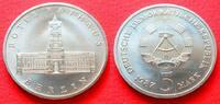 5 Mark 1987 DDR Rotes Rathaus Stempelglanz  4,00 EUR  +  5,00 EUR shipping