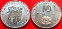 10 Mark 1986 DDR Thälmann Stempelglanz  6,00 EUR  +  5,00 EUR shipping