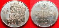 10 Mark 1989 DDR 40 Jahre DDR Stempelglanz  5,00 EUR  +  5,00 EUR shipping