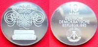 10 Mark 1982 DDR Gewandhaus Leipzig Silber Polierte Platte offen, Proof... 37,00 EUR  +  5,00 EUR shipping