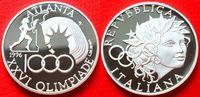 1000 Lira 1996 Italien Fackelläufer, Stadtion, Olympiade 1996 Atlanta P... 20,00 EUR  +  5,00 EUR shipping