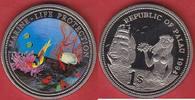 1 Dollar 1994 Palau Clownfisch, Anemone, Koralle, Meeresfauna, Marine -... 7,50 EUR  zzgl. 5,00 EUR Versand