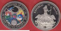 1 Dollar 1995 Palau Delphin, Fische, Koralle, 50 Jahre UNO - Life Prote... 7,50 EUR  zzgl. 5,00 EUR Versand