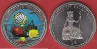1 Dollar 2000 Palau Falterfische vor Schiffswrack - Life Protection, Fa... 14,50 EUR  zzgl. 5,00 EUR Versand