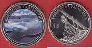 1 Dollar 2002 Palau Pottwal - Life Protection, Farbe Stempelglanz, Bril... 14,50 EUR  zzgl. 5,00 EUR Versand