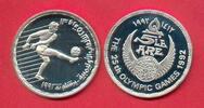 5 Pfund 1992 Aegypten Olympiade 1992 Barcelona, Fußball Polierte Platte... 14,00 EUR  +  5,00 EUR shipping