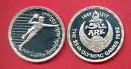 5 Pfund 1992 Aegypten Olympiade 1992 Barcelona, Handball Polierte Platt... 14,00 EUR  +  5,00 EUR shipping