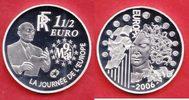 1,5 Euro 2006 Frankreich Eurostar - Europa Stern, Robert Schuman Polier... 16,00 EUR  +  5,00 EUR shipping