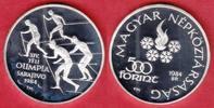 500 Forint 1984 Ungarn Winter Olympic 1984 Polierte Platte, Proof  16,00 EUR  +  5,00 EUR shipping