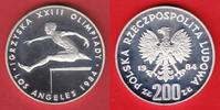 200 Zlotych 1984 Polen Summer Olympic 1984 Polierte Platte, Proof  15,00 EUR  +  5,00 EUR shipping