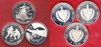Kuba 3 x 5 Pesos 1983 Polierte Platte, Proof Winter Olympic 1984 37,00 EUR incl. VAT., +  5,00 EUR shipping